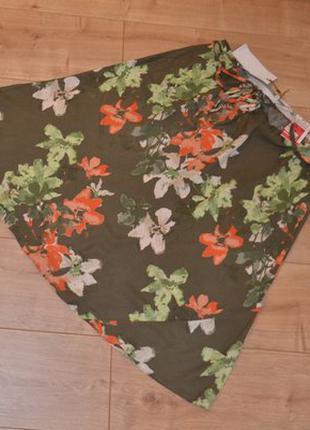 Новая юбка Marks&Spencer миди поб до 65 см