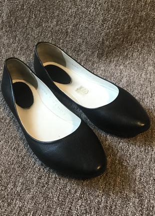 Нові балетки mida 39 розмір, натуральна шкіра, кожаные туфли