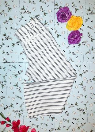 Трендовые штаны в полоску из льна monsoon, размер 48 - 50