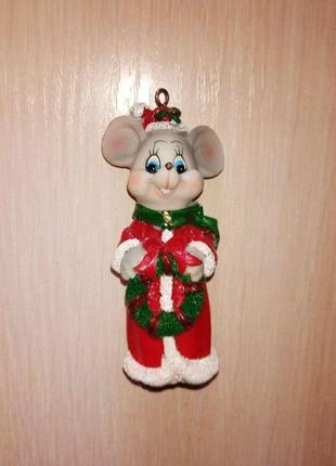 Статуэтка Мышка (Крыса)