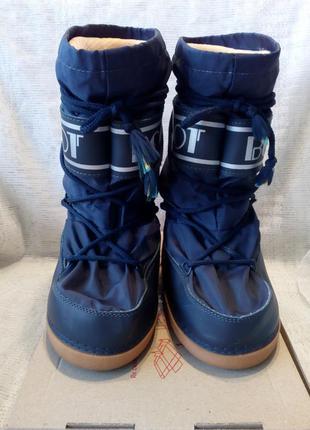 Boot cапоги c валенком луноходы синие 35-37 размер