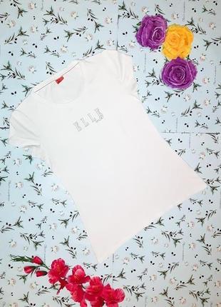 Бесплатная доставка! стильная базовая белая футболка elle spor...
