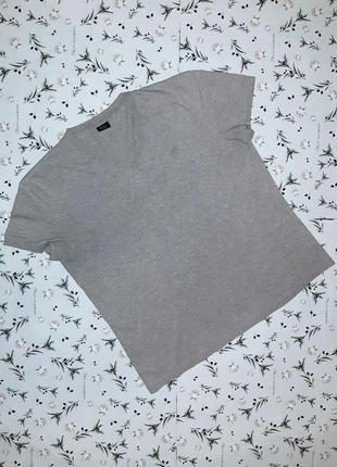 Стильная  серая футболка с v-образным вырезом next, размер 50 ...