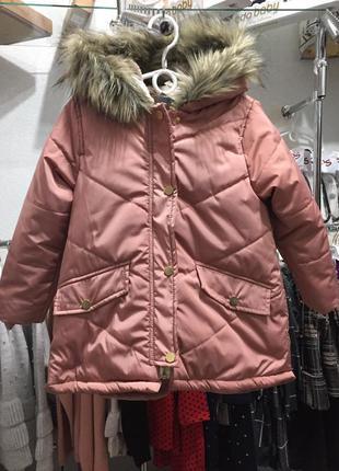 Зимняя куртка на девочек