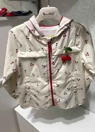 Куртка-ветровка для девочек