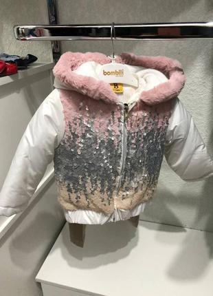 Куртка, штаны и реглан девочку 1 год