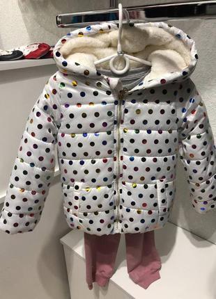 Куртка+спортивный костюм на девочку 5 лет