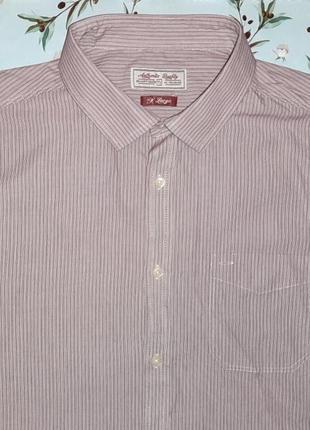 Стильная мужская рубашка tu, размер 50 - 52, большой размер