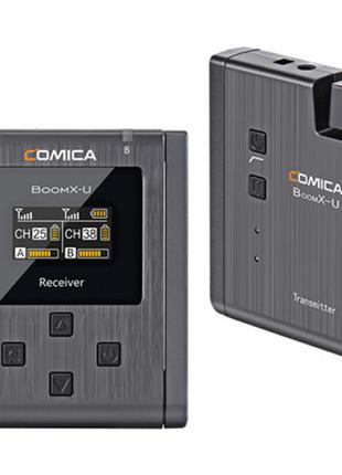 Беспроводная микрофонная система Comica BoomX-U U1 (BOOMX-U U1)