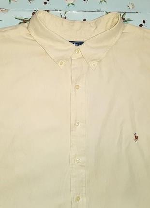 Крутая фирменная рубашка ralph lauren, размер 56 - 58, большой...
