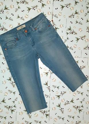 Крутые узкие удлиненные джинсовые шорты topshop, размер 42 - 44