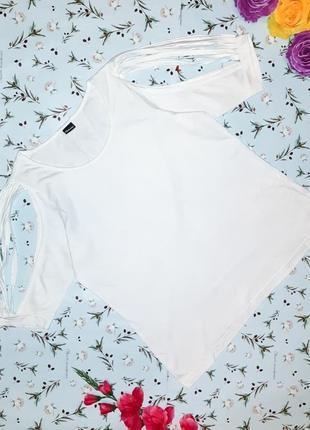 Акция 1+1=3 стильная оригинальная белая футболка блуза chillyt...