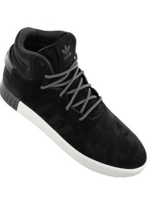 Кроссовки adidas tubular invader black/white s80243 оригінал