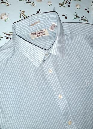 Стильная рубашка в полоску penguin оригинал, размер 44 - 46