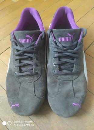 Puma кросовки из натуральной кожи Размер 41 (26.5 cm)