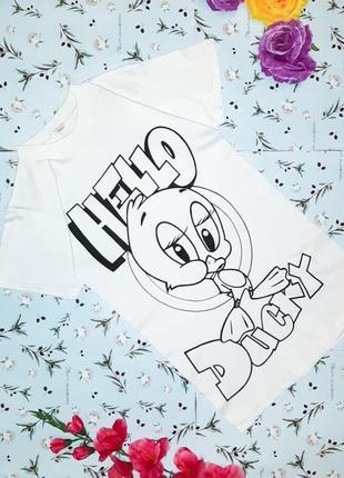 Бесплатная доставка! стильная удлиненная белая футболка, разме...
