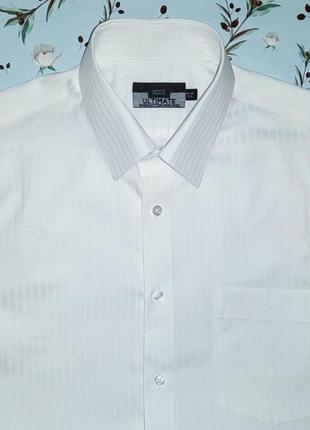 Фирменная белая рубашка шведка marks&spencer, размер 46 - 48