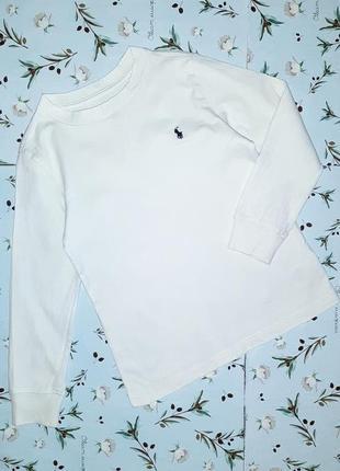Бесплатная доставка! фирменный белый свитер ralph lauren на ма...
