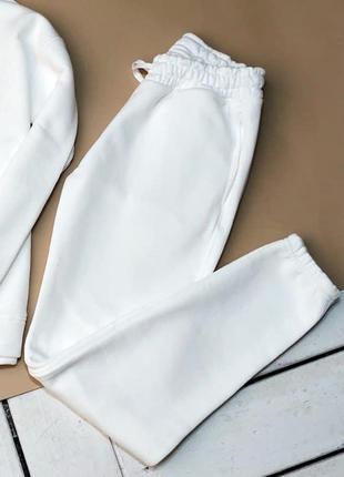 Штаны женские базовые / штани жіночі базові белые білі