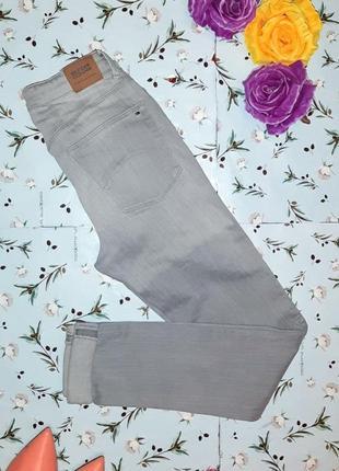 Узкие джинсы скинни с подворотом tommy hilfiger, размер 42 - 44