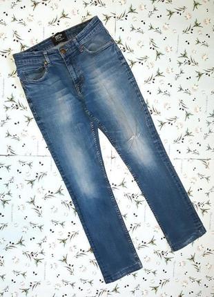 Фирменные узкие рваные джинсы sandstone&co, размер 42 - 44