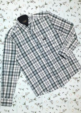 Крутая фирменная рубашка в клетку jack wolfskin, размер 48 - 50