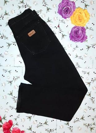 Черные плотные мом mom джинсы с высокой посадкой wrangler, раз...