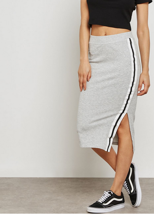 Узкая юбка с завышенной талией jacqueline de yong, размер 44 - 46