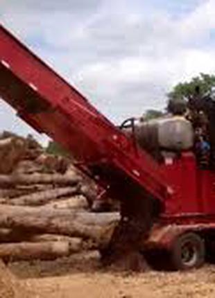 Услиги измельчение древесины и прочие