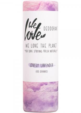 Дезодорант-стик, LOVELY LAVENDER, We love planet, 65г
