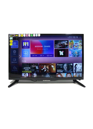 Телевизор Samsung smart TV 32 android 9.1+Т2 led т...