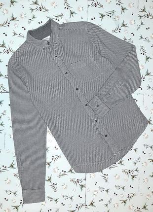 Фирменная плотная рубашка из хлопка next, размер 42 - 44