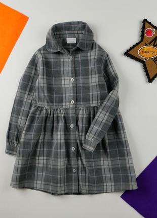 Платье рубашка f&f на 3-4 года, рост 104 см