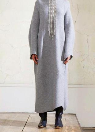 Коллаборация martin margiela h&m шерстяное платье
