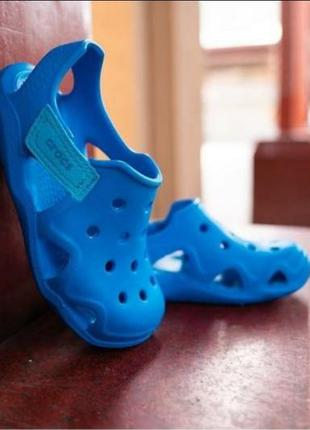 Сандали crocs ocean swiftwater wave clog - kids