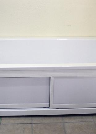 Панель для ванны алюминий раздвижная Лилея