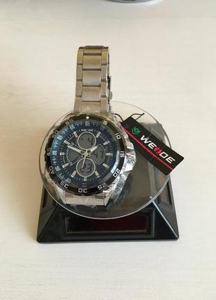 Мужские наручные спортивные часы weide steel