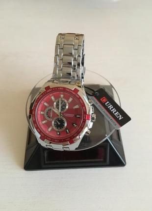 Мужские наручные спортивные часы curren 8023