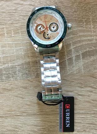 Мужские наручные спортивные часы curren 8150