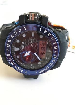 Мужские спортивные кварцевые наручные часы skmei 1063