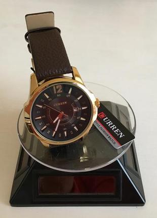 Мужские наручные деловые часы curren 8123