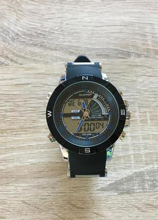 Водонепроницаемые мужские спортивные часы quamer