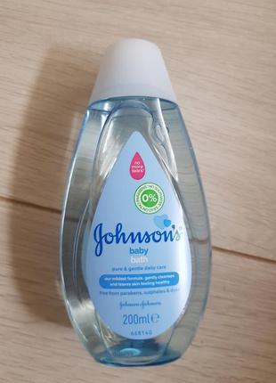 Johnson's детская шампунь 200 мл