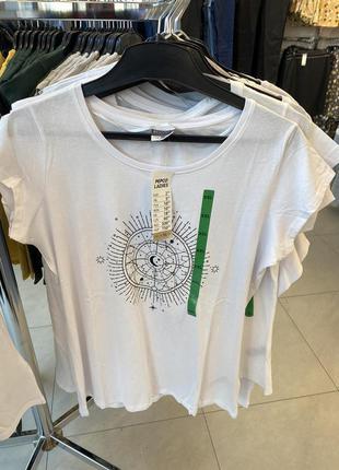 Женская футболка 100%хлопок