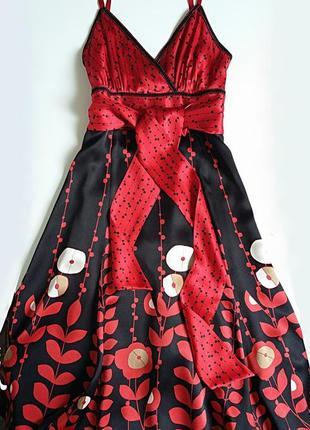 Сарафан-платье чистый шелк😍😍💣