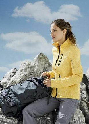 Куртка – кофта женская  шикарная   softshell crivit германия