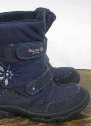 Зимние ботинки superfit gore tex р.31