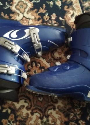 Ботинки лыжные Salomon 39 р стелька 25 см оригинал из Германии