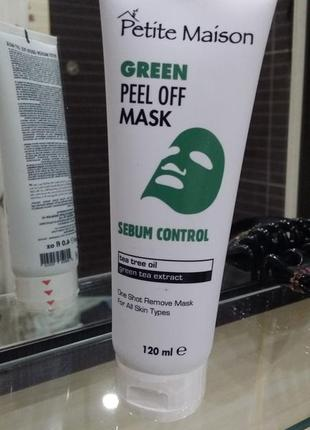 Нормализующая маска-пленка для лица petite maison, 120 мл