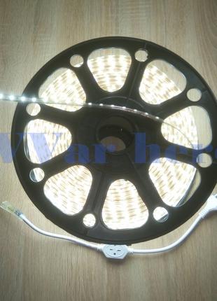 Светодиодная лента 220В SMD5050 60LED диодов влагостойкая IP68
